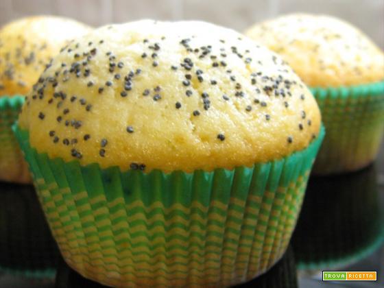 Muffins Lime e Semi di Papavero