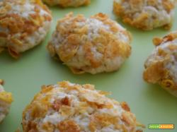 Biscotti ai cornflakes integrali ed arancia (Orange Cornflakes Cookies)