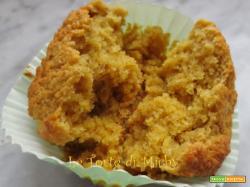 Muffins light con crusca d'avena e ricotta di bufala al profumo d'arancia
