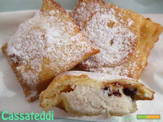Cassateddi o ravioli fritti siciliani