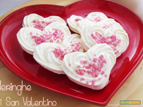 Cuori di Meringhe di San Valentino