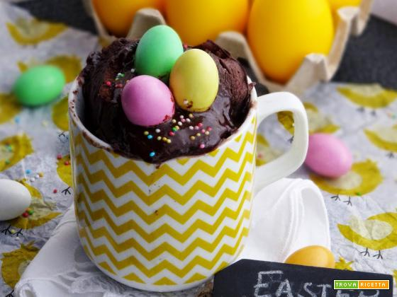 Easter Mug Cake (Torta in tazza di Pasqua)