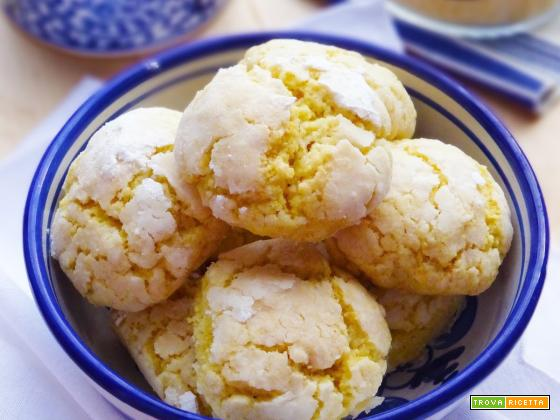 Corn Cookies (Biscotti al mais)