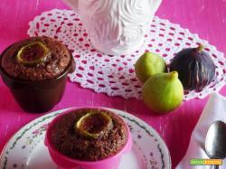 Muffins settembrini cacao, fichi e mandorle