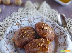 Calzoncelli al cacao, ricotta e nocciole