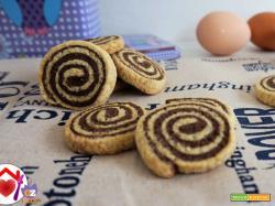Girelle di biscotto