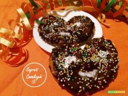 biscotti carnevale cioccolato
