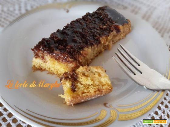 Torta al caramello e cioccolato -morbida-