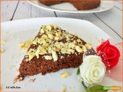 Torta al Cucchiaio senza cottura con Carote e Cacao
