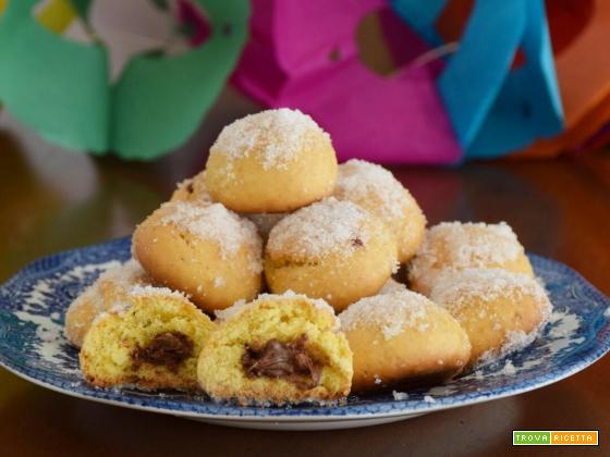 Castagnole con Nutella al forno – soffici e leggere