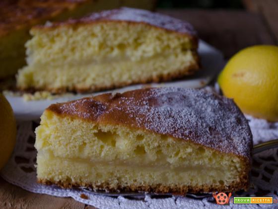 Torta con crema di limone – Ricetta senza burro