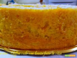Ricetta Chiffon cake con lievito fatto in casa
