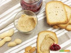 Burro di Arachidi, Mandorle e Semi di girasole e Confettura velocissima di Lamponi! (colazione con le proteine vegetali)