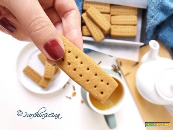 Shortbread fingers- Biscotti per il tè
