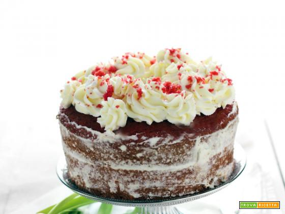 Fluffosa di San Valentino (red velvet chiffon cake)