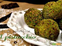 Tartufi al pistacchio: il riciclo più buono che ci sia