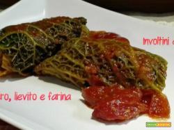 Involtini di verza al parmigiano