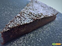 Torta di semolino (migliaccio) al cioccolato [Senza ricotta]