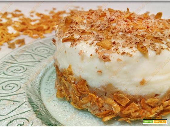 Mini cheesecake con ricotta e fiocchi di farro
