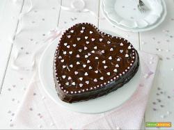 Cuore soffice al doppio cioccolato e peperoncino