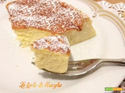 Giapponese cheesecake solo tre ingredienti