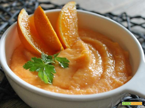 Crema di carote e arance – Un'idea leggera subito pronta