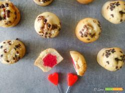 Muffins allo yogurt con stelle a sorpresa