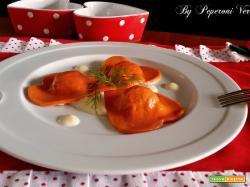 Cuori di San Valentino con patate e speck