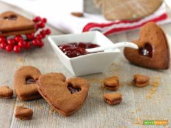 Frollini farro e fragole con zucchero integrale – senzaburro