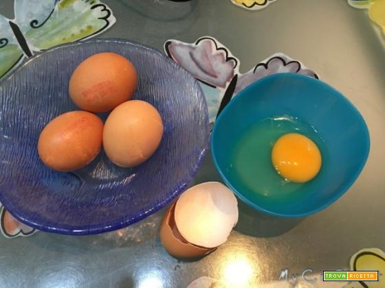 Pastorizzare uova intere con il Cuisine Companion