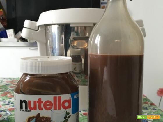 Nutellino, liquore alla Nutella, con Cuisine Companion