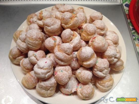 Pasta per bignè e zeppole col Cuisine Companion, pasta choux