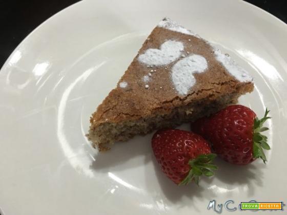 Torta con farina di grano saraceno e nocciole (senza glutine)