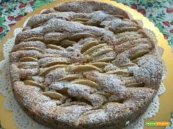 Torta di mele, per il compleanno di mia mamma, auguri!!