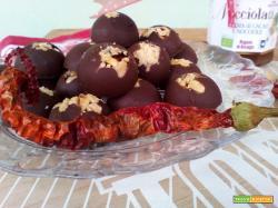 Cioccolatini alla Nocciolata con Peperoncino
