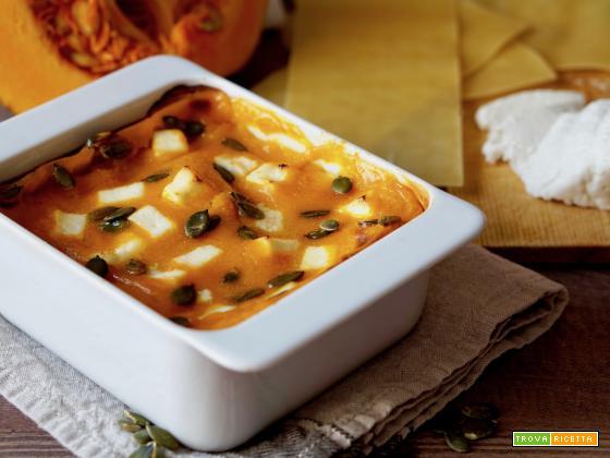 Lasagne alla Zucca e Ricotta