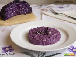 Risotto con cavolo rosso – primo piatto
