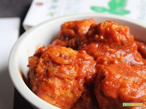 Polpette di pollo al sugo