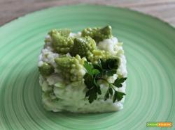 Risotto ai broccoli romaneschi – verde natura ricetta facile
