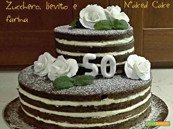 Naked cake – Torta da cerimonia