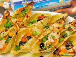 Pasta ripiena Mozzarisella e verdure
