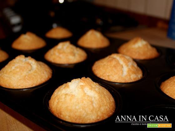 Muffin con farina di mandorle (gluten/lattosio free)