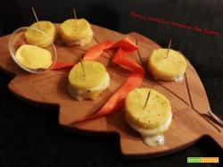 Polenta farcita al gorgonzola