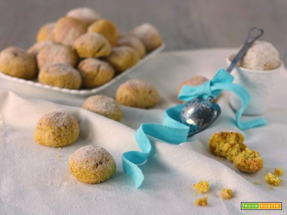 Castagnole vegane light al forno con uvetta frullata