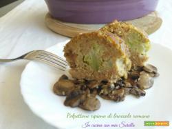 Polpettone ripieno di broccolo romano – Ricetta tradizionale