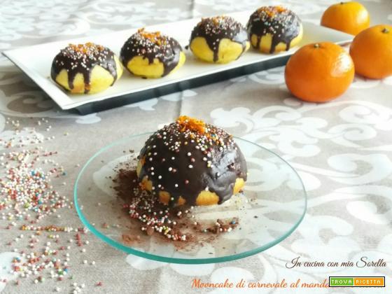 Mooncake di carnevale al mandarino e ricotta – Ricetta di Carnevale light