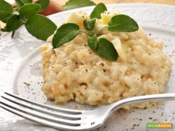 Risotto alla Formaggella del Luinese - ricetta