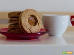 Biscotti Integrali con confettura di Melone - ricetta