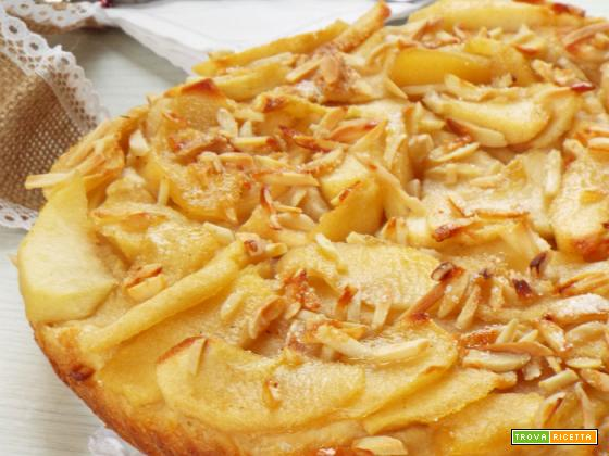 Torta di mele senza uova  dolce lievitato