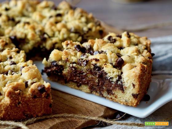 Torta Cookies alla Nutella